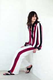 Zeus + Dione | ATHLOS SS collection HERA blouse and ALCYONE trousers
