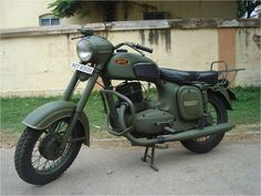 Jawa 42 Motorcycle In Galactic Green Color Teal Bike Cafe