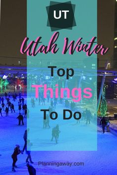Are you looking for things to do in Utah in Winter? Perfect! Get ready to plan some winter activities in Utah? If you think skiing when you think of Utah, that is a great thought to have! Utah offers world class skiing. But it also offers a wide variety of other, amazing activities in Salt Lake City and surrounding areas. Let's explore some of the fun things to do in winter in Utah! Utah Vacation, Fun Winter Activities, Winter Travel, Salt Lake City, Great Places, Skiing, Things To Do, National Parks, Places To Visit