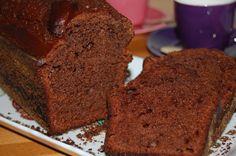 Cake au miel et au chocolat noir