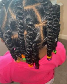 Little Girls Natural Hairstyles, Black Baby Hairstyles, Toddler Braided Hairstyles, Natural Hairstyles For Kids, Natural Hair Styles, Little Girl Twist Hairstyles Black, Hairstyle For Kids, Lil Girl Hairstyles Braids, Kids Crochet Hairstyles
