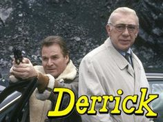 Derrick. Mijn favoriete Duitse crimi. Op eem gegeven moment hield Nederland op met Derrick uit te zenden. Verdriet en protest allom. Dan moest je naar de Duitser overschakelen om toch nog Derrick te zien. Maar ik nam liever niet het risico om midden in het staartje van een nagesynchroniseerde Amerikaanse serie te vallen op de Duitser. Vreselijk! Dus dat was tjus Derrick
