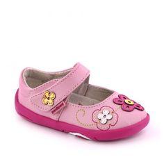 Pantofi bebelusi Lorraine Pink - pediped Lorraine, Spring Summer