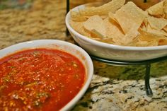 The best salsa ever!  Roasted Guajillo Pepper Salsa www.fooddonelight.com