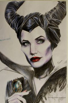 malificent drawings - Google Search