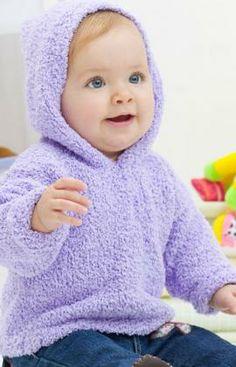 Warm & Cozy Hoodie Knitting Pattern