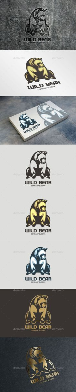 Wild Bear Logo - Animals Logo Templates