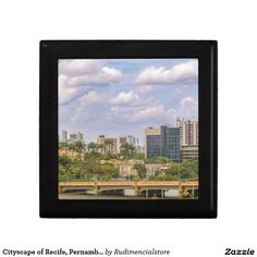 Cityscape of Recife, Pernambuco Brazil
