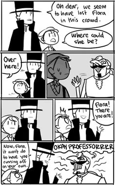 Professor Layton comic pg 1