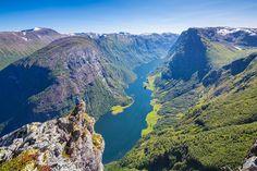 Big Fjord, Small man by Espen Haagensen on 500px