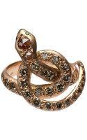 Ileana Makri Berus Coiled Snake Ring - Lyst