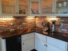 46 Best Thin Brick Tiles In Kitchens Back Splashes And