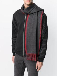 Dondup tasseled scarf