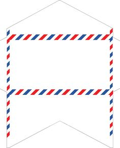Airmail Envelopes Stationery Paper Goods Rustic Office