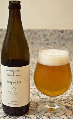 Maine Beer Company Peeper Ale - absolutely AMAZING