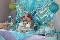 The Little Mermaid Tea Party Party Ideas | Photo 3 of 20