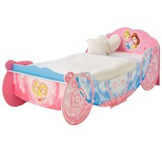 The Disney Princess Carriage Single Bed Has To Be Every Girls Dream This Elaborate And Beautifully Styled Will Send Princesses Into A
