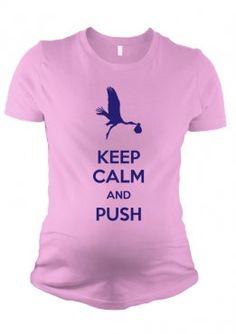 22 camisetas con mensajes para embarazadas | Blog de BabyCenter Message in a pregnancy t-shirt @Eugenia Correa