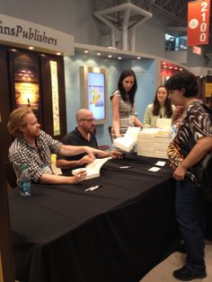 Author signings - this one for Endgame, by James Frey and Nils Johnson-Shelton James Frey, Book Expo, Self Publishing, What Is Like, Filmmaking, Book Lovers, Author, America, Books