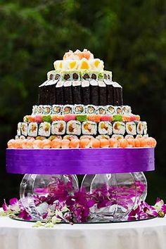 Tort z sushi