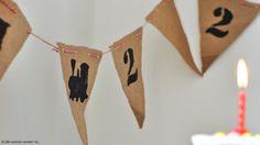 Kindergeburtstag_Wimpelkette Outdoor Decor, Party, Kids, Birthday Ideas, Room, 2nd Birthday, Craft Tutorials, Invitations, Projects