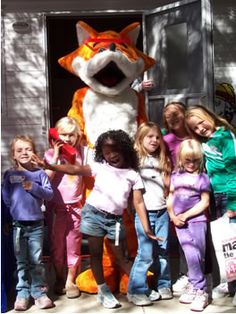 North Texas Council of Governments (NTCOG) 9-1-1 program mascot Red E Fox. NTCOG provides free teaching materials (videos, classroom sets, stickers, pencils and more) to qualifying North Texas schools. Visit the site for more details. #Safety #Fire #Prevention