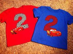 Items similar to Lightning McQueen Birthday Shirt, McQueen Race Car Birthday Shirt on Etsy 3rd Birthday Party For Boy, 2nd Birthday Shirt, Race Car Birthday, Birthday Ideas, Car Themed Parties, Cars Birthday Parties, Terrible Twos, Lightning Mcqueen, Disney Cars