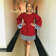 Trending Ankara Short Gown Styles For Every Woman African Fashion Ankara, Latest African Fashion Dresses, African Print Fashion, Africa Fashion, Short African Dresses, Ankara Short Gown Styles, African Print Dresses, Short Gowns, African Traditional Dresses