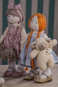 Bonecas lindas criadas pela Vivi Prado                              …