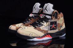 low priced d8696 48c96 Supreme x Air Jordan 5