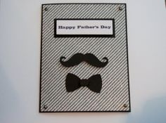 Happy Father's Day   Mustache Card by SassyScrapsCrafts on Etsy, $3.50