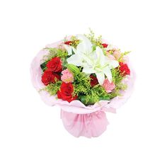 Apart from roses, carnations have been established a place in the heart of people all over the world with their celestial appearance and gorgeous colors. Carnation Bouquet, Pink Carnations, Online Bouquet, Dozen Red Roses, Online Flower Shop, Heart Shaped Chocolate, Gift Cake, Chocolate Bouquet, White Lilies