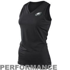 b68df1b11 Nike Philadelphia Eagles Women s Endzone Performance Tank Top - Black  Division