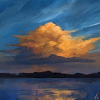 Overweight Cloud by LaurensSpruit