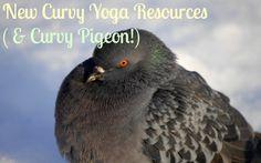 New Curvy Yoga Resources (+ Curvy Pigeon!)