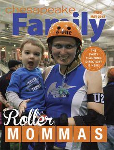 May 2012 cover of Chesapeake Family Magazine