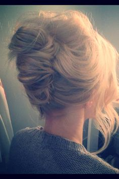 Love this messy twist!