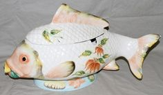 Fish Soup, Fine Porcelain, Green Colors, Serving Bowls, Salmon, Seafood, Interiors, Ceramics, Tableware
