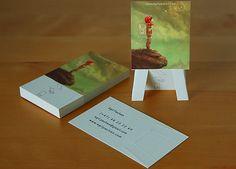 diseño de tarjeta de negocio brillante