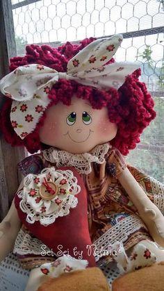Fabric Doll Pattern, Fabric Dolls, Paper Dolls, Doll Face Paint, Effanbee Dolls, Real Doll, Raggedy Ann And Andy, Soft Dolls, Beautiful Dolls