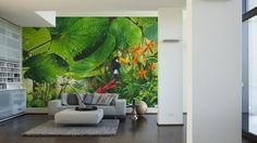 Livingwalls Fototapete Jungle (XL) 041273; simuliert auf der Wand