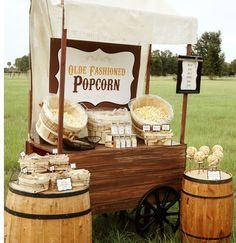 Popcorn Bar printable ideas