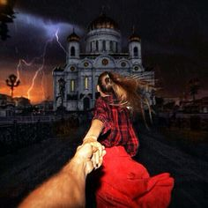 99. #followmeto the Cathedral of Christ the Saviour in Moscow. 26 February 2014 (the 99th pic of the photo series by Russian Photographer, Murad Osmann)