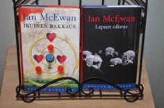 Ullan Luetut kirjat: Ian McEwan Lapsen oikeus Ian Mcewan