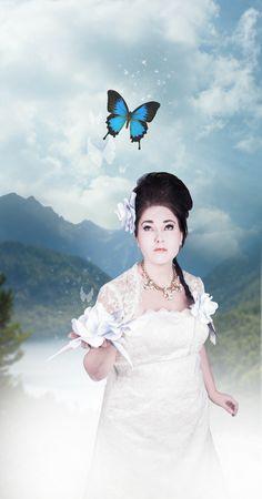 Butterfly fairytale