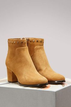 e2c758c5a Jimmy Choo Melvin 65 suede ankle boots - ShopStyle
