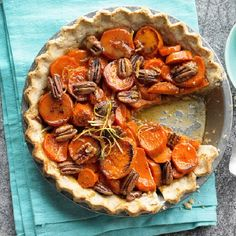 Candied Sweet Potato Pie   This looks delectable!   Homemade Dessert Recipes from HomemadeRecipes.com #HomemadeDessertRecipes #HomemadeRecipes