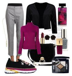 """""""purple"""" by oksana-chmel on Polyvore featuring мода, Cole Haan, Blugirl, Dolce&Gabbana, Boohoo, Christian Dior, Diane Von Furstenberg, Salvatore Ferragamo, Lipsy и Elizabeth Arden"""