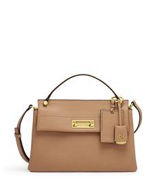 24c9d95b53fd2 Modern Icon Top Handle Satchel. Monogrammed PursesBeige PursesDesigner Leather  HandbagsZipper BagsHenri ...