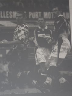 26 January 2002 Duncan Ferguson scores against Leyton Orient in the FA Cup